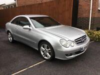 Mercedes CLK220 Avantgarde 46000 genuine miles