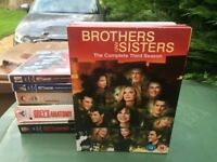 brothers and sisters DVD season 3 also Greys Anatomy DVD seasons 1,2,5,6,7,and 8