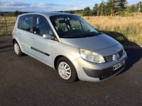VERY LOW MILES, AUTOMATIC, to clear Renault Scenic 1.6 Expression 39k miles, mot March 2017 2 keys!!