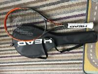 New tennis racquet
