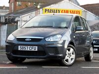 57 REG FORD C-MAX STYLE TD 1.8cc 5 DOOR. Call PaisleyCarSales on 10418899200 / Mob, 07895607121
