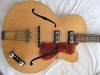 Vintage Hofner 500/5 Bass Guitar 1960 - Amazing Condition