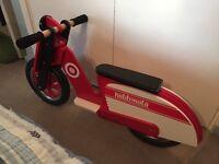 Kiddimoto Balance Bike like NEW!