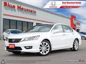 2014 Honda Accord Touring w Navi & Leather W/ WINTER TIRES!