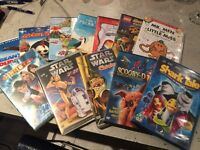 kids' DVDs (5 still wrapped)- good range and condition. Fab for Xmas. A steal at £50