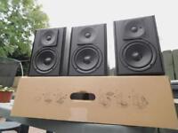 Miller&Kreisel LCR-55 MKII Home Cinema Speakers