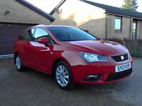 SEAT IBIZA SE 1.4 ESTATE 5DR RED MOT 25/9/21,CLICK ON VIDEO LINK TO SEE AND HEAR MORE DETAILS