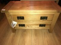 JOHN LEWIS Hard Oak Wood Chest Of Drawers