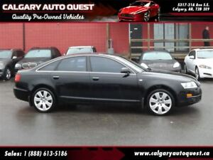 2008 Audi A6 4.2 AWD/NAVIGATION/B.CAM/LEATHER/ROOF