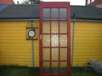 Glass paneled Internal Door