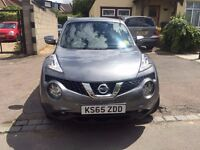 NISSAN JUKE PETROL 1.6 AUTO FULLY LOADED IMMACULATE CONDITION