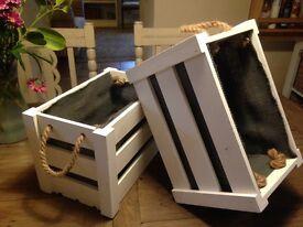 Wedding decorations, accessories, storage, Crates.