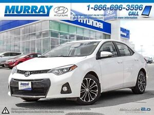 2014 COROLLA 4DR SPORT ONE OWNER