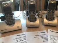 Digital portable Panasonic telephones