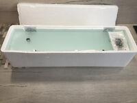 Modern Bathroom Smoked Glass Shelf (LAST ONE)