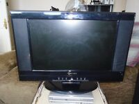 """19"""" LCD TV with Freeview & DVD player"""