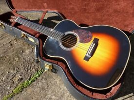 Martin 2008 OM-28V Vintage Series acoustic guitar Sunburst Hard case Excellent condition OM 000