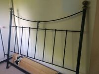 Wrought Iron Metal Bed - king size