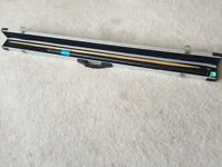 Hunt & osbourne blue plate snooker cue
