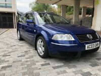 Vw Passat 1.9Tdi 130 Sport 2003 Manual