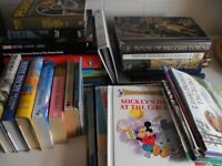 Over 35 Books suit various readers Adult or children or Suit Car Booter may be