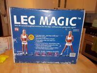 New in box Leg Magic Excerciser