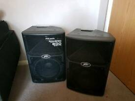 Peavey 800w active PA or monitor speakers