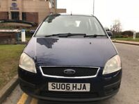 ★ LOW 69,000 mls AUTO ★ YEARS MOT ★ 2006 FORD FOCUS C-MAX ZETEC, 5 dr 2.0, 3 OWNERS, GOOD SERV H