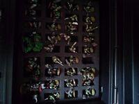 Assorted warhammer figures etc.