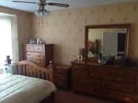 Four piece bedroom furniture