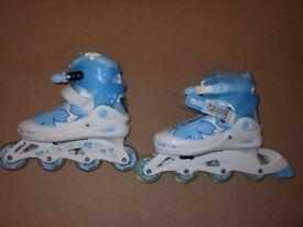 Inline skates/Roller blades. Worn once.