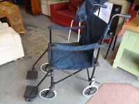 Powertec Lightweight Foldable Manual Wheelchair