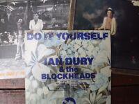 Ian Dury original pressing LPs x 3