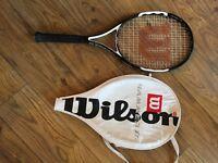 Wilson Hammer 26 Junior Tennis Racquet and case