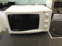 Ariston 850W Large White Microwave Model MW212W