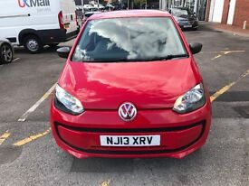 2013 VOLKSWAGEN TAKE UP RED 3DR CHEAP BARGAIN MUST SELL