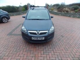 Vauxhall Zafira (Blue) 1.9 CDTI 7 Seater with tow bar