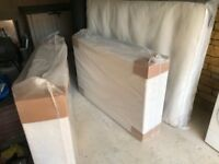 Brand new king size memory foam mattress and divan