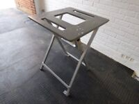 Folding Collapsable Heavy Duty Metal Saw Table (does not come with electric saw)