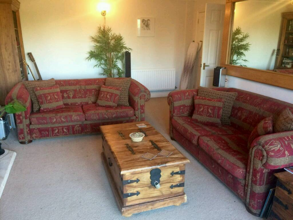 Sofas Two Duresta Maximus Compact Chesterfields Very Good