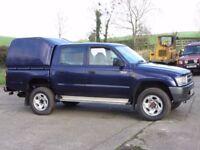 Waxoyl and chassis rust protection. Toyota Land Cruiser Mitsubishi Shogun