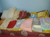ASSORTMENT OF BEDDING