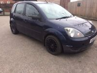02 PLATE FORD FIESTA 1.4LX *BREAKING FOR PARTS ONLY*