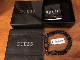 Half Price Guess Jewellery Men Bracelet Jet Guess UMB21514-S, zz