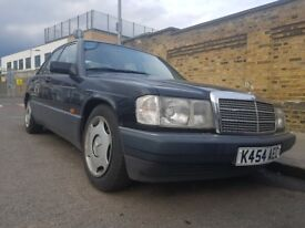 Mercedes 190e K reg 154000 mileage with all the old mots