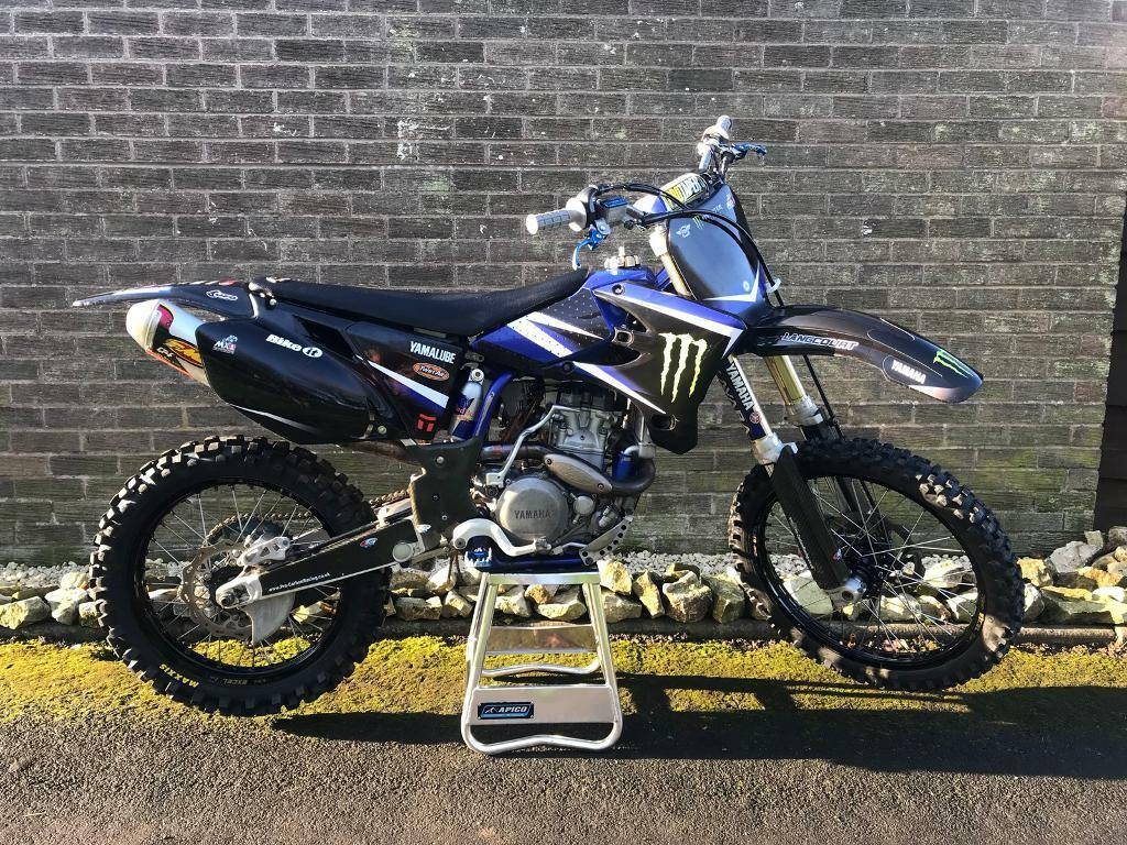 Yamaha yzf 450 2004 road registered