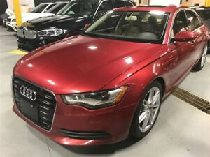 2012 Audi A6 3.0T|NAVIGATION|MOONROOF|LEATHER