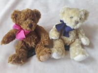 Very cute Beansy and Chumley teddy bears for sale
