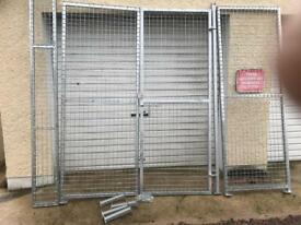Metal gates and panels
