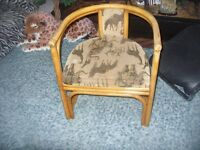 Solid bamboo safari themed chair ( bedroom )